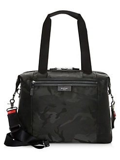 Quick View Storksak Stevie Nylon Diaper Bag