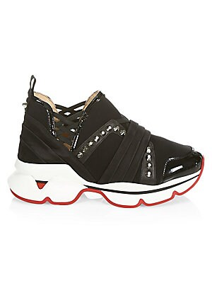 123 Spike Runners by Christian Louboutin