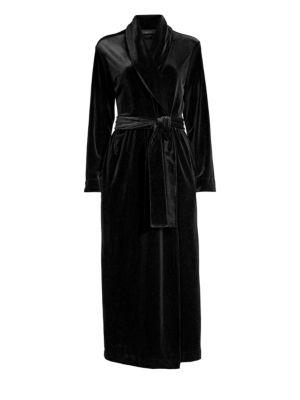 Natalie Velvet Robe by Natori