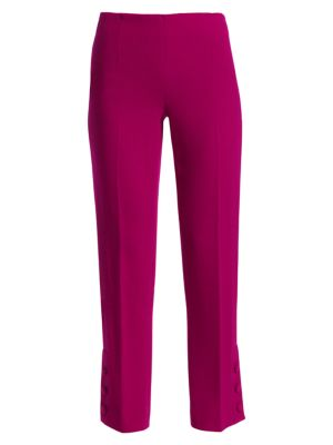 Lela Rose Resort Button Cuff Pants