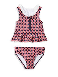 e6c664ceff6382 QUICK VIEW. Janie and Jack. Little Girl's & Girl's Geometric Print Tankini