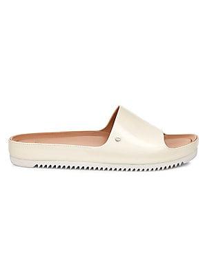 5211ef115 Ugg - Jane Patent Slide Sandals - saks.com