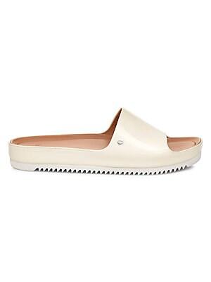 dbf261d3442 Sammy Chevron Metallic Sneakers.  110.00 · Ugg - Jane Patent Slide Sandals