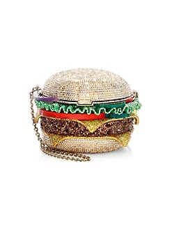 Quick View Judith Leiber Couture Crystal Hamburger Clutch