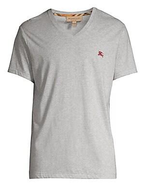 6103ac82ecc2 Burberry - Embroidered Logo Pique Polo Shirt - saks.com