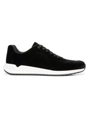 Vince Garrett Velvet Sneakers