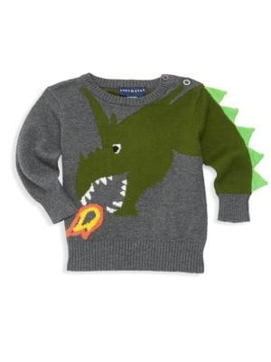 Baby Boy's Graphic Sweater by Andy & Evan