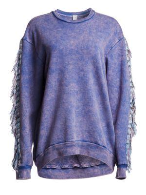 Alchemist Coco Cotton Pullover In Serenity Blue