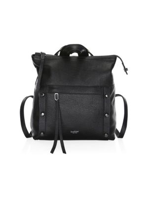 Noho Small Pebbled Leather Backpack by Botkier New York