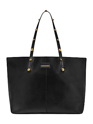 a66d04350f6e Versace - Quilted Palazzo Empire Top Handle Bag - saks.com