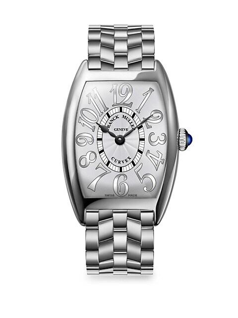 Cintree Curvex 35MM Stainless Steel Bracelet Watch