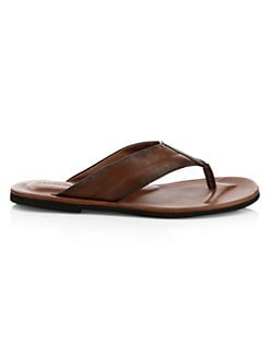619a3ffcaca To Boot New York. Leather Thong Sandals