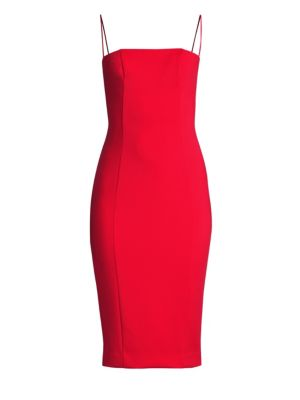 MISHA COLLECTION Sophie Sheath Dress in Red