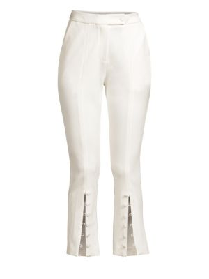 MISHA COLLECTION Sally Cropped Pants in Ivory