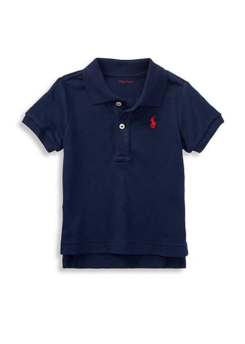 Baby Boys Short Sleeved Polo Shirt