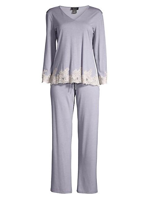 Luxe Shangri La Two-Piece Pajama Set