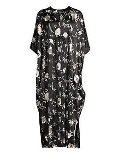 Women s Apparel - Lingerie   Sleepwear - Robes   Caftans - saks.com 29928d25e