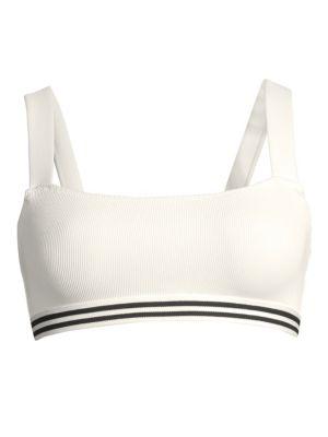 Solid And Striped The Madison Bikini Top
