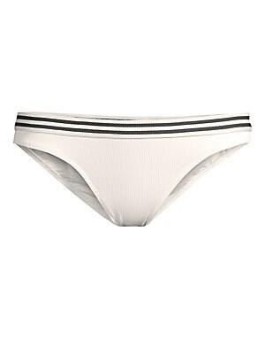 f6d0c795a6 PilyQ - Riviera Ruched Bikini Bottoms - saks.com