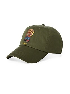 1716d31992c Product image. QUICK VIEW. Polo Ralph Lauren. Outdoors Bear Cotton Baseball  Cap