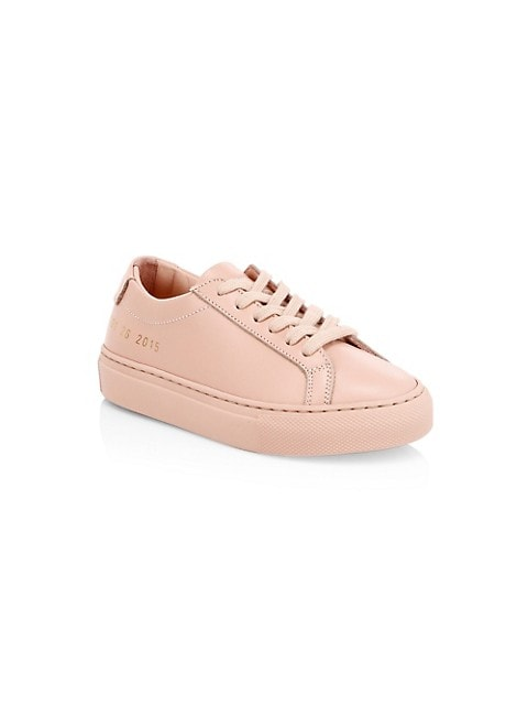 Little Girl's & Girl's Original Achilles Leather Low-Top Sneakers