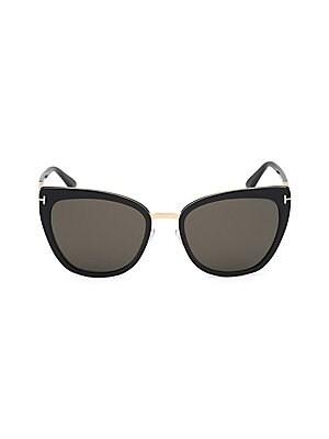 d054af0cf5ba6 Tom Ford - Penelope Metal Cat Eye Sunglasses - saks.com