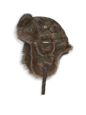 18572688f01 Canada Goose - Aviator Fur Hat - saks.com