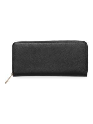 Tde Leather Continental Wallet