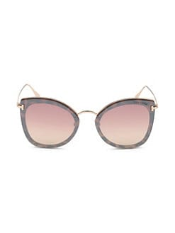 195dceefee3 QUICK VIEW. Tom Ford. Charlotte 62MM Cat Eye Sunglasses