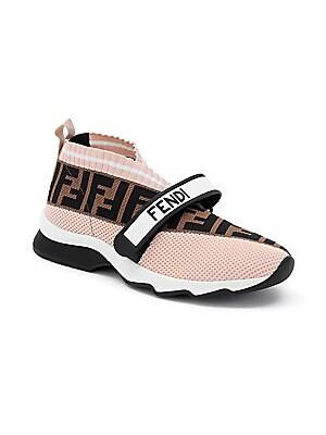 Fendi - Rockoko Knit Sneakers - saks.com e4225b0a984
