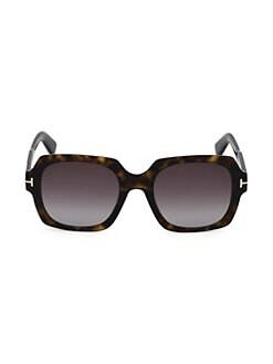 8fa035f4d81d Tom Ford. Autumn 53MM Big Square Sunglasses