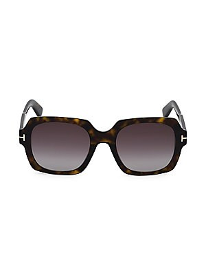 9eb9ddc844 Tom Ford - Gianna 54MM Cat Eye Tortoise Sunglasses - saks.com