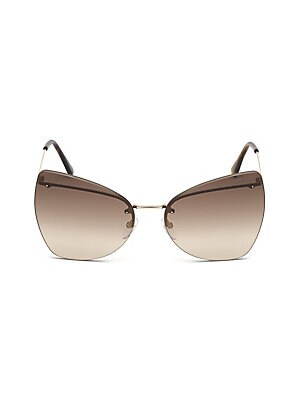 67a63a9889be2 Tom Ford - Presley 61MM Butterfly Sunglasses - saks.com