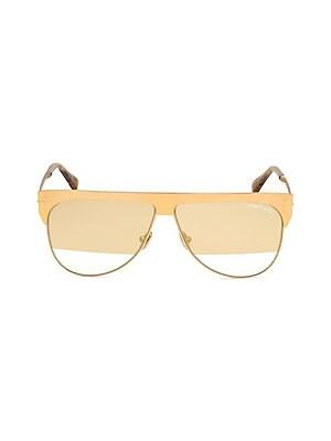 bebc7b8dcf5a Tom Ford - Spector 72MM Geometric Sunglasses - saks.com