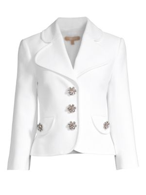 Cropped Peacoat Jacket by Michael Kors Collection