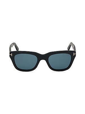 fa0b63280e7 Tom Ford - Pia Black 48MM Square Sunglasses - saks.com
