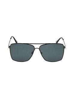 2ebe3992000 Tom Ford. Magnus 60MM Square Aviator Sunglasses