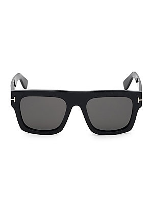 d3db2dcac14 Tom Ford - Atticus Geometric Shield Sunglasses - saks.com