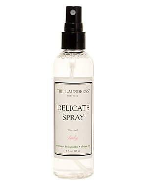 Image of WHAT IT IS We love our delicates, closets, and drawers to smell clean and fresh. This nontoxic formula with antibacterial properties adds scent while removing odor. Spray to freshen lingerie, hosiery, dresses, and scarves between washes. Ideal for items l