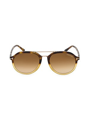 1660563b55b Tom Ford - Rupert 55MM Round Aviator Sunglasses