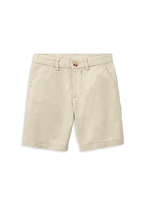 Little Boys  Boys Flat Front Shorts