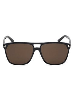 2062b2295aa97 QUICK VIEW. Tom Ford. Shelton 59MM Pilot Sunglasses