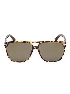 aa1cca0ce6 Tom Ford - Shelton 59MM Pilot Sunglasses - saks.com
