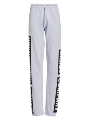 Merce Cunningham Sweatpants in Pale Blue