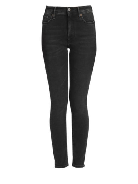 Acne Studios High-Rise Five-Pocket Skinny Jeans | SaksFifthAvenue