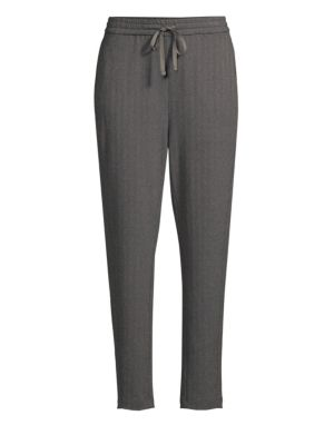 Drawstring Slouchy Pants by Eileen Fisher