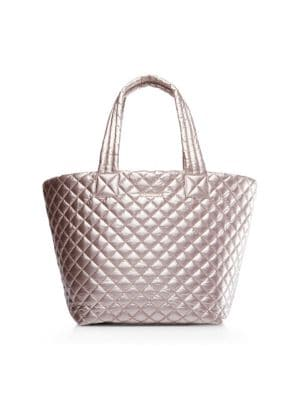 Mz Wallace Totes Medium Metro Quilted Nylon Tote