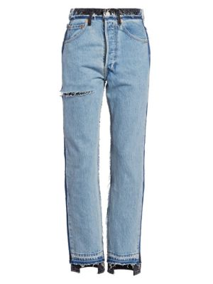 Vetements Jeans VETEMENTS x Levis Reworked Skinny Crop Jeans