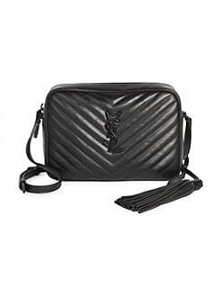 9f98c5d99f1 Saint Laurent. Medium Lou Monogram Matelassé Leather Camera Bag
