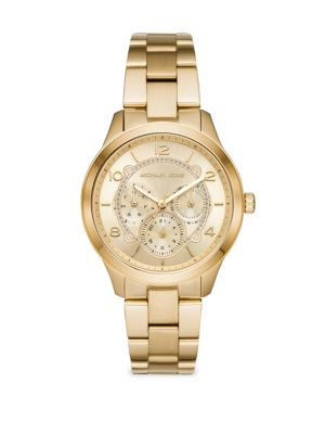 Michael Kors Runway Chronograph Stainless Steel Bracelet Watch